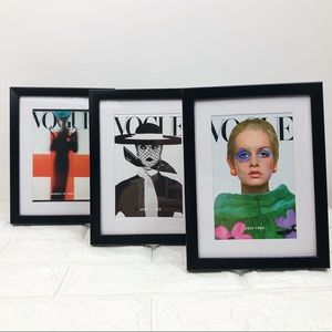 Framed Mini Vogue Magazine Covers